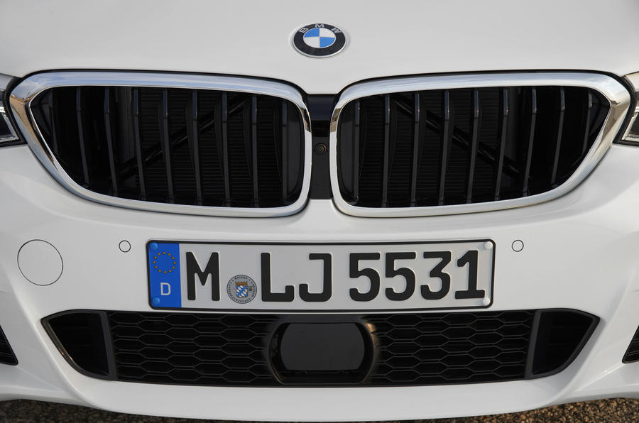 BMW 6 Series GT front grille
