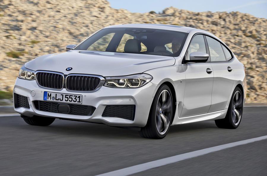 BMW 6 Series GT front quarter