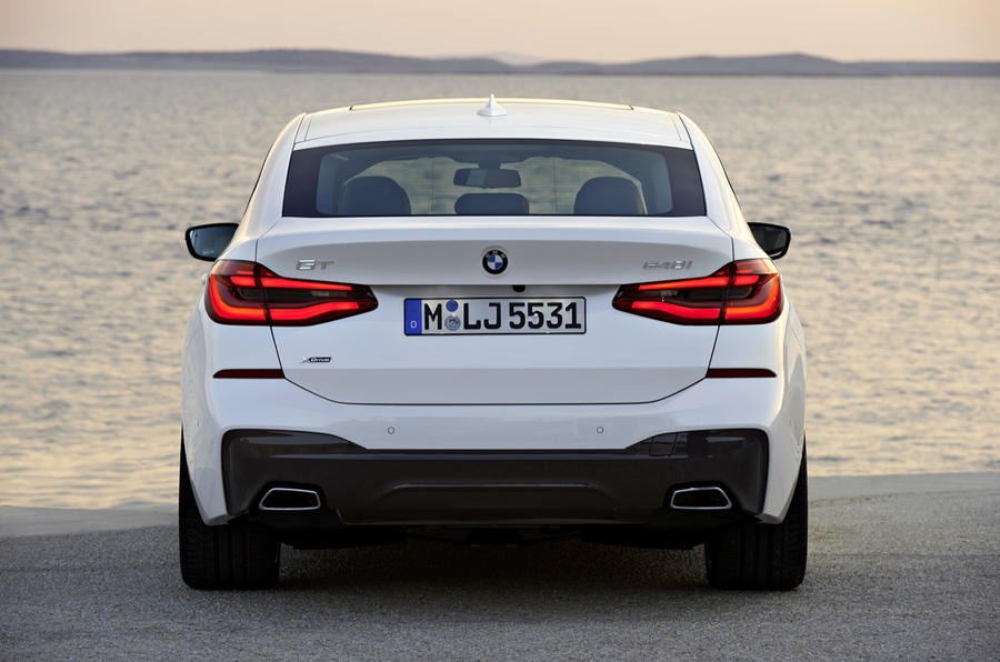 BMW 6 Series GT rear end