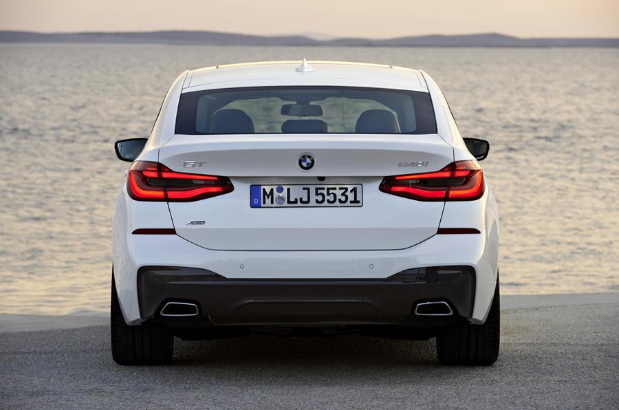 BMW 6 Series GT rear end