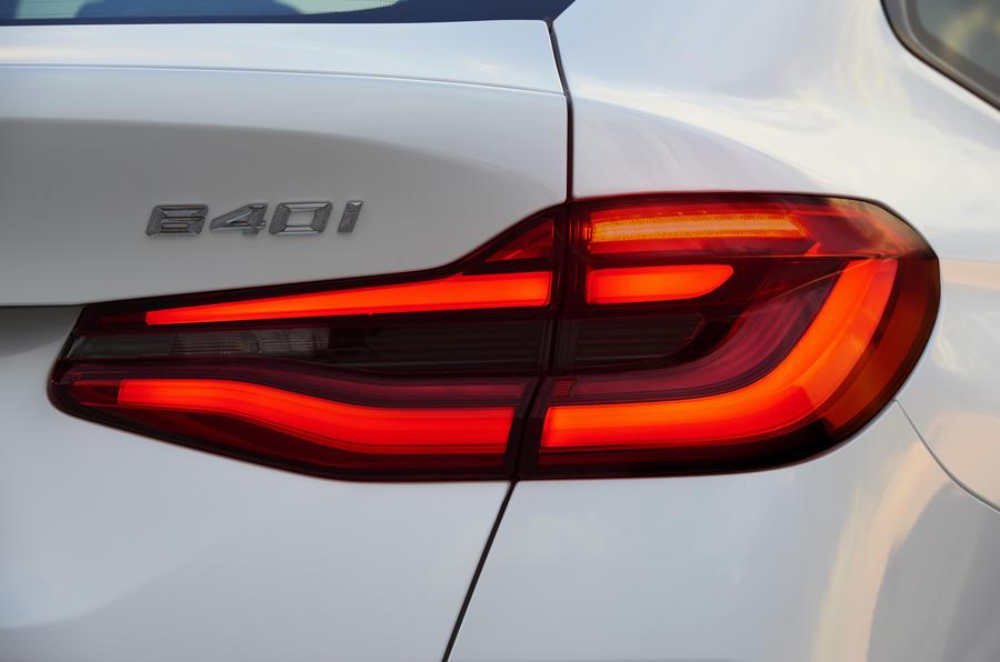 BMW 6 Series GT rear LED lights