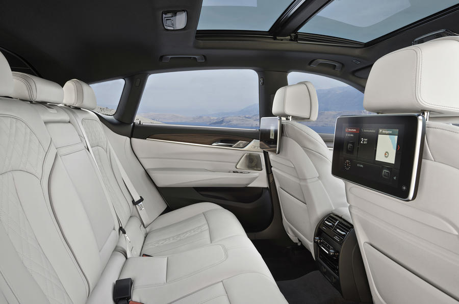 BMW 6 Series GT rear seats