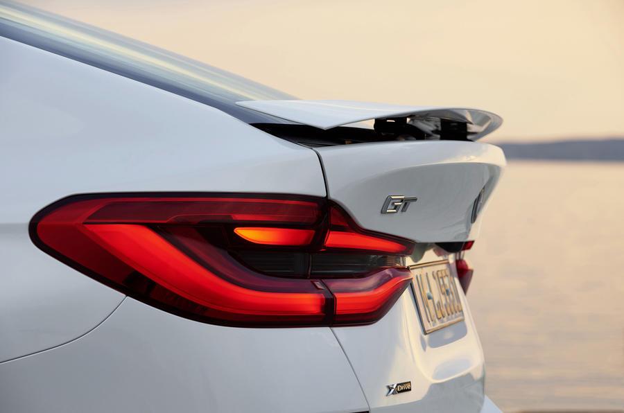 BMW 6 Series GT rear spoiler