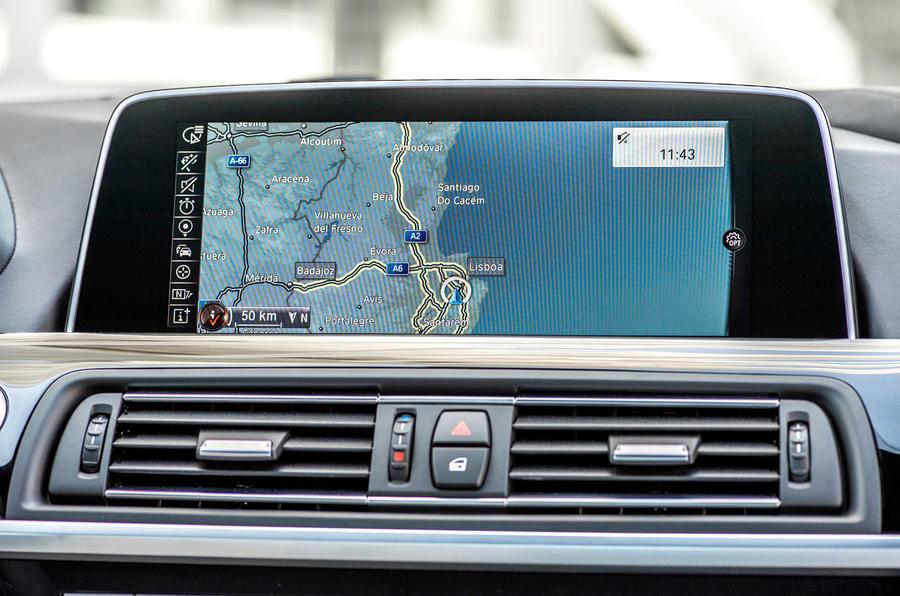 BMW 6 Series iDrive system