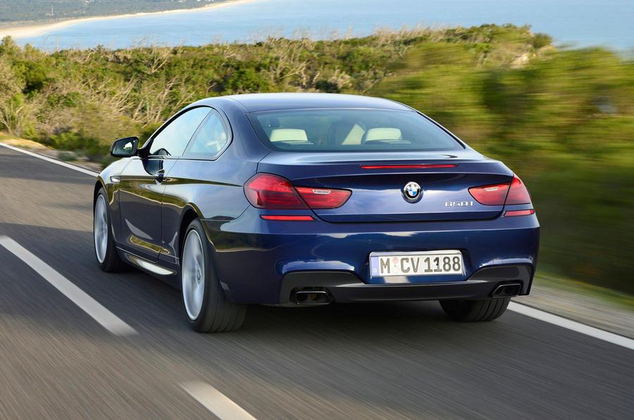 BMW 650i rear