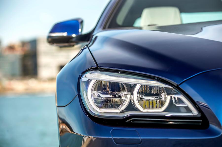 BMW 650i LED headlights