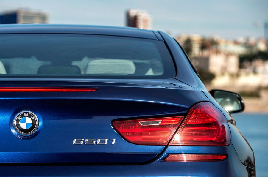 BMW 650i rear lights