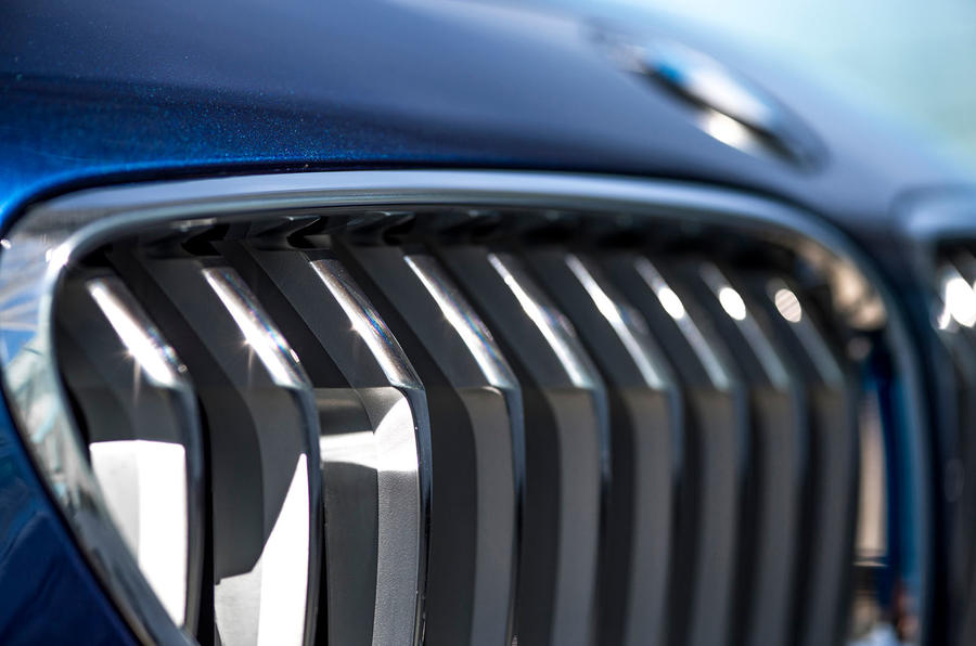 BMW 650i front grille
