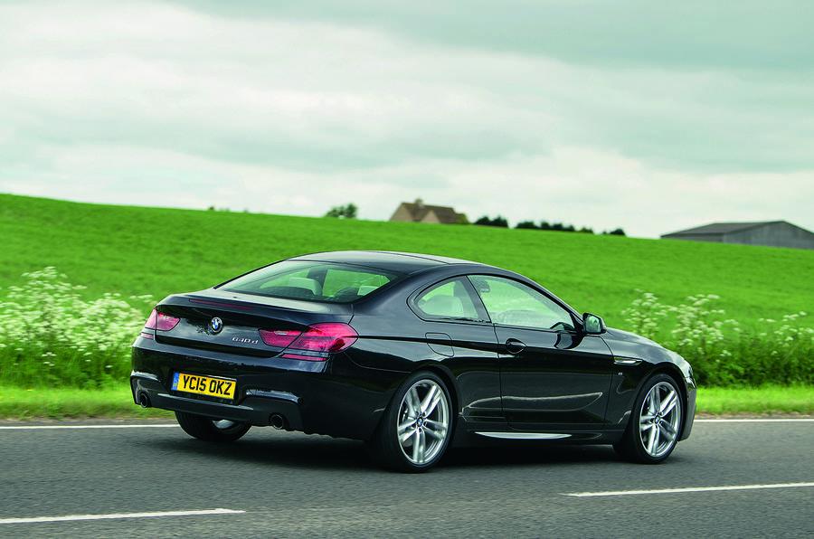 BMW 640d rear