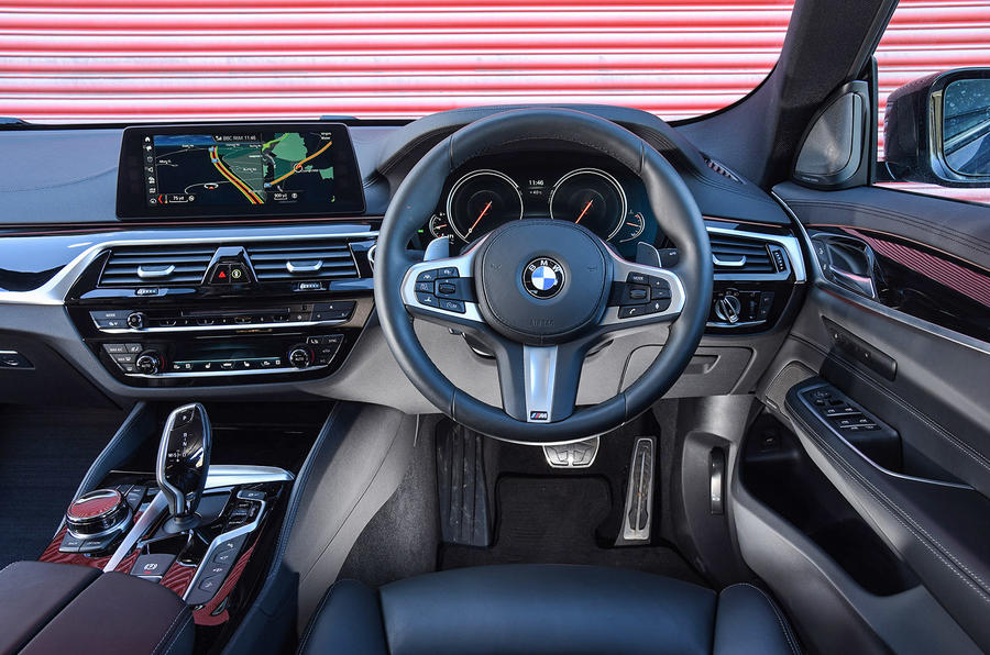 BMW 6 Series Gran Turismo interior