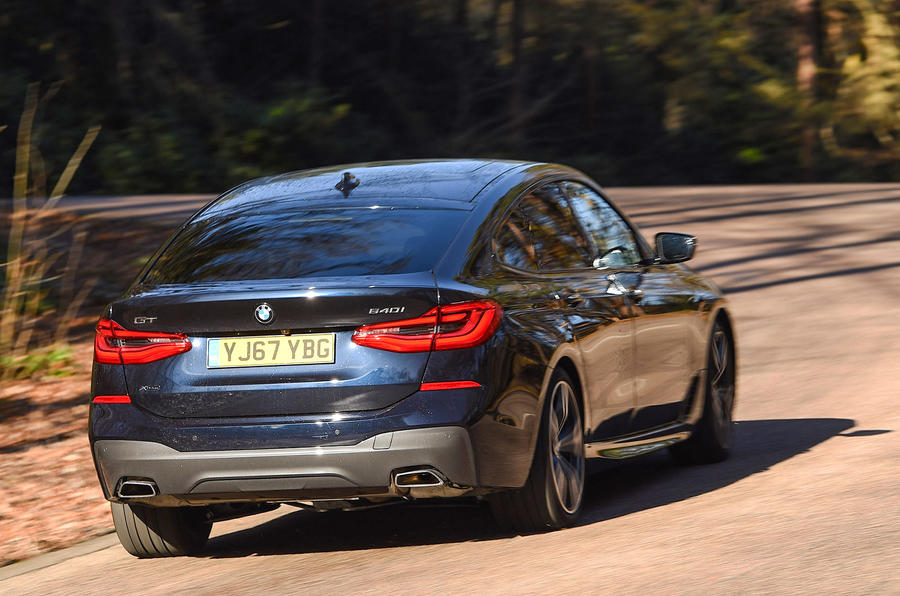 BMW 6 Series Gran Turismo rear