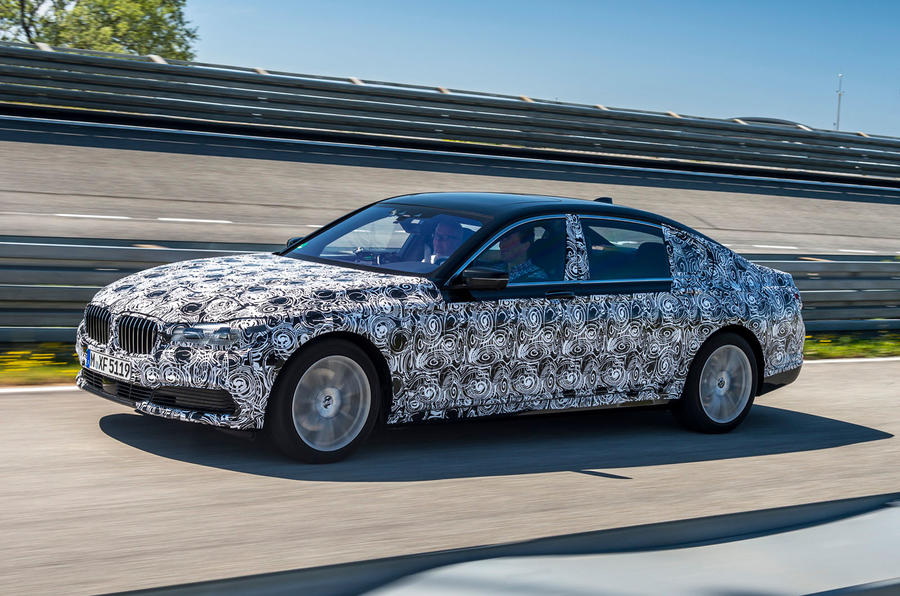 2015 BMW 7 Series 740iL Prototype Review