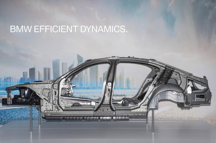 Aluminium construction for BMW 7 Series