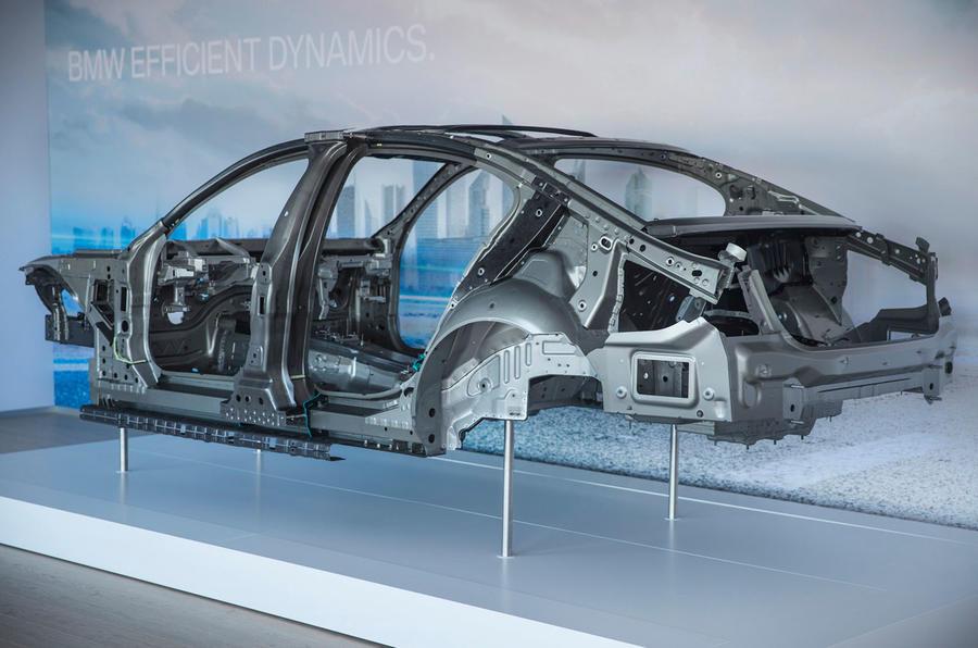 BMW 7 Series aluminium construct