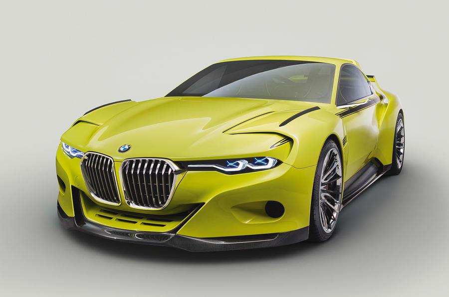 BMW 3.0 CSL Hommage R   neues Konzept für mehr Komfort