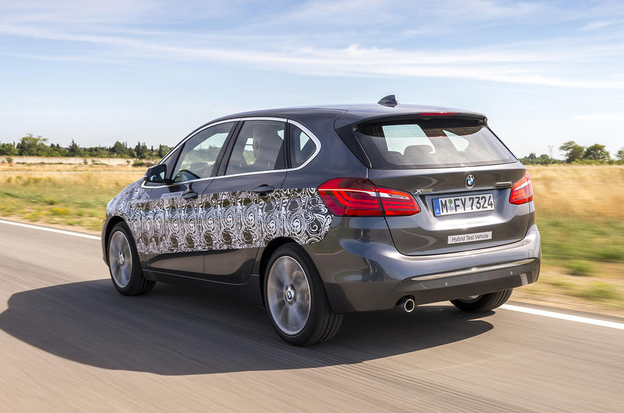 BMW 2 Series Active Tourer rear cornering
