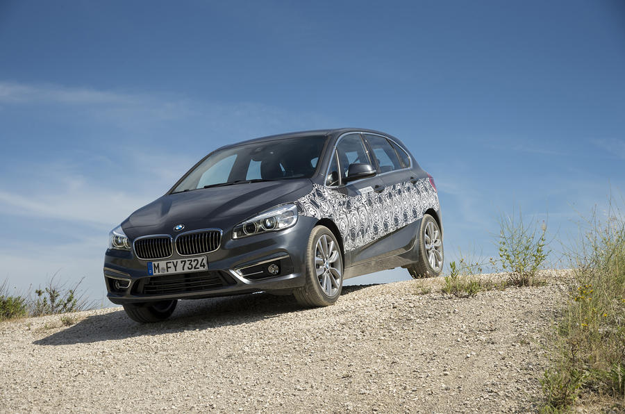 BMW 2 Series Active Tourer off-roading