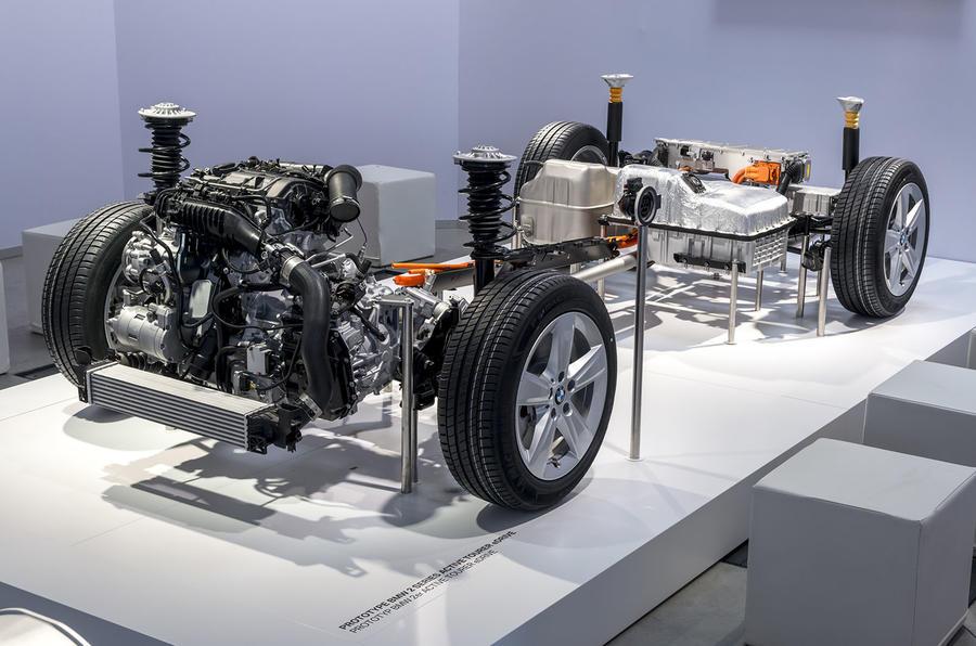 BMW 2 Series Active Tourer electric powertrain