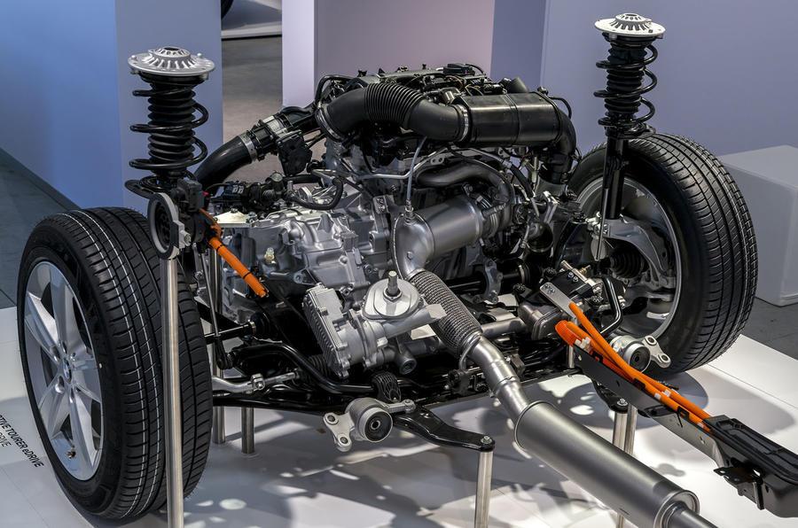 BMW 2 Series Active Tourer electric motor