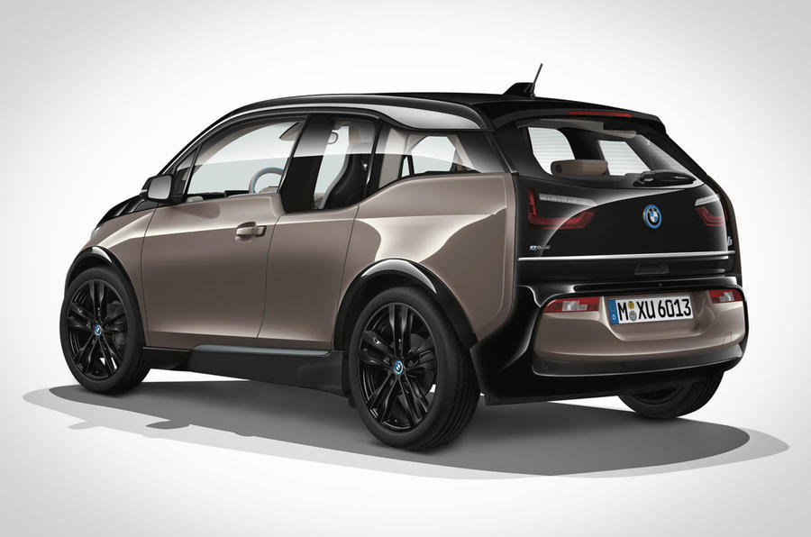 BMW i3 MY2019 reveal static rear