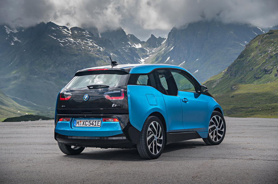 BMW i3 94Ah rear quarter