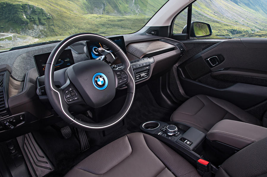 Inside the BMW i3 94Ah