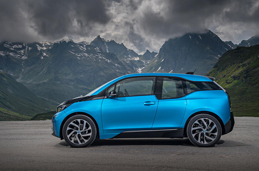 BMW i3 94Ah side profile