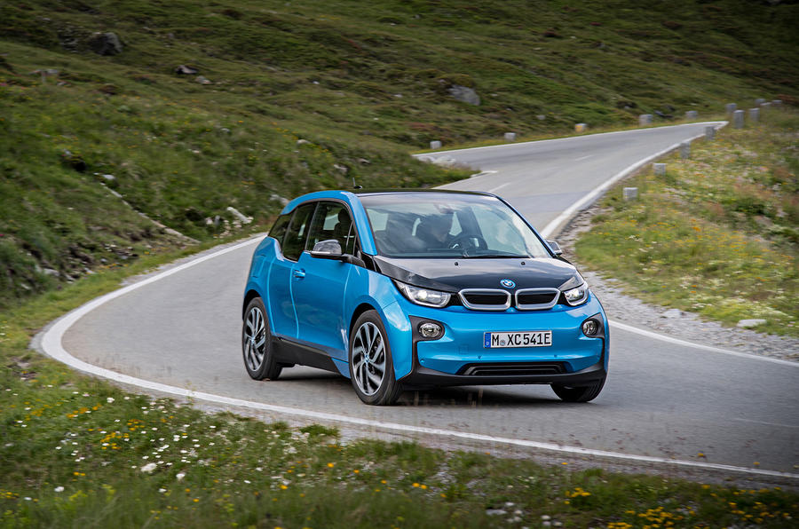 BMW i3 94Ah cornering