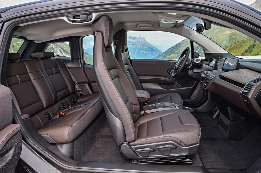 BMW i3s interior