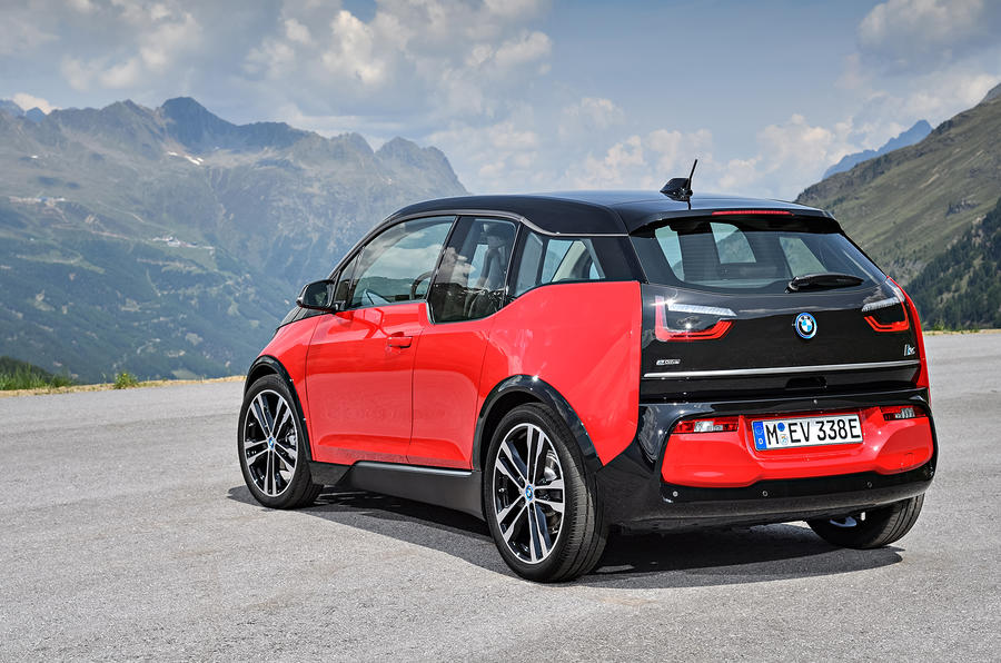 BMW i3s rear quarter
