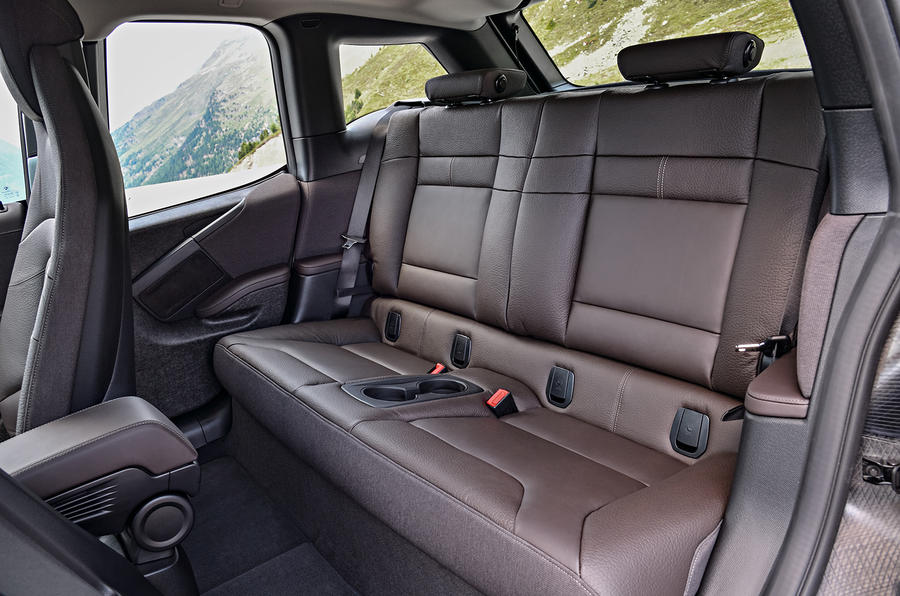 BMW i3s rear seats