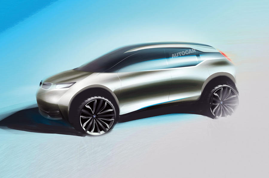 BMW i5 SUV as imagined by Autocar