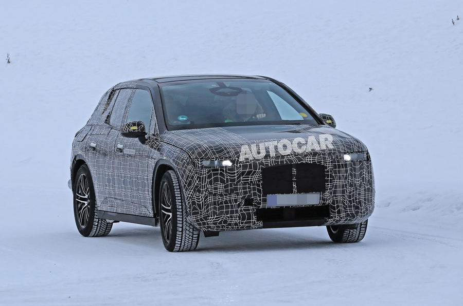 BMW iNext winter testing spies 4