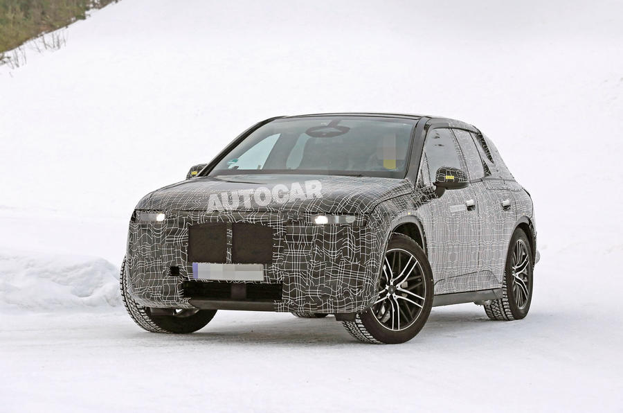 BMW iNext winter testing spies 3