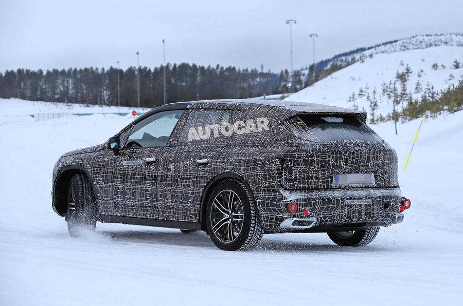 BMW iNext winter testing spies 2