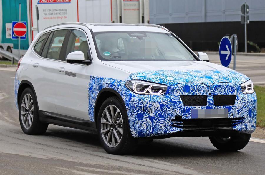 BMW iX3 prototype
