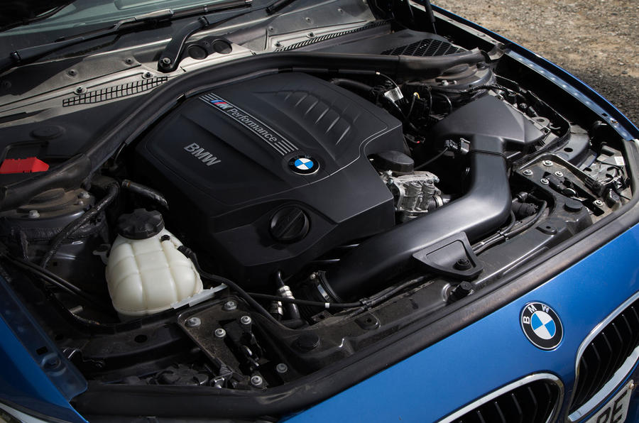 3.0-litre used BMW M135i petrol engine