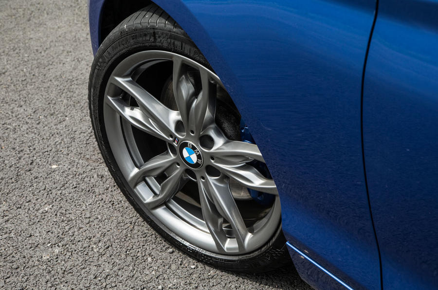 Used BMW M135i alloy wheels