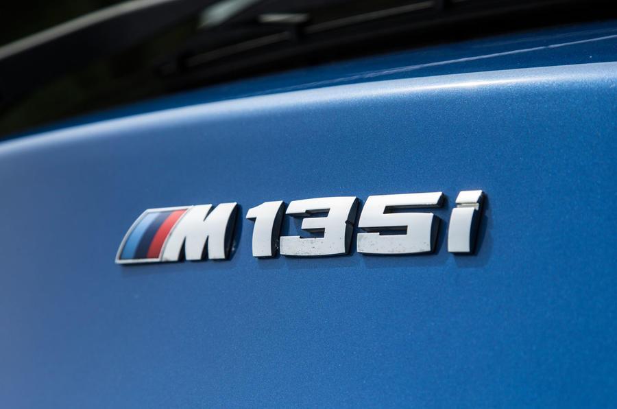 Used BMW M135i badging