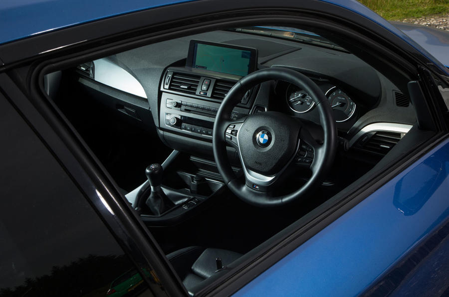 Used BMW M135i interior