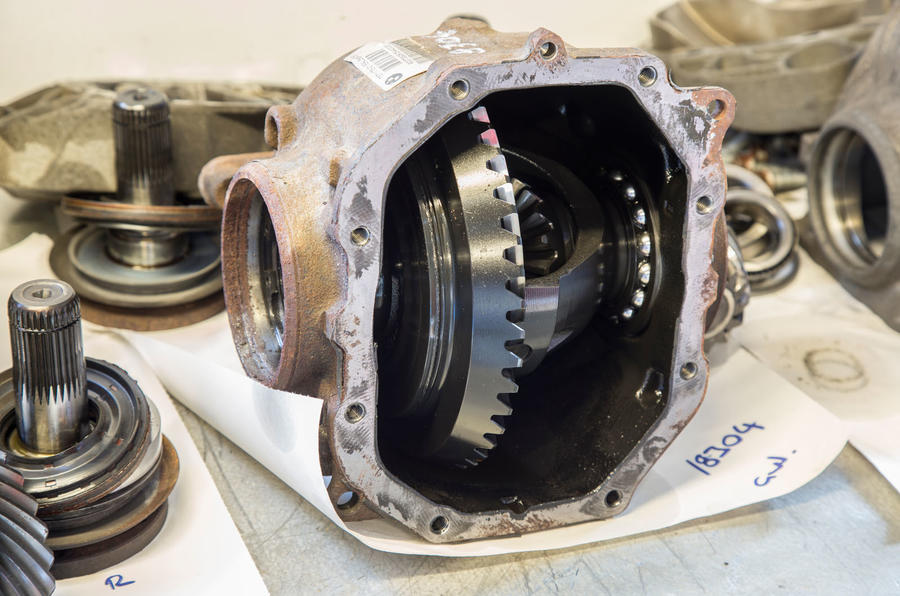 Used BMW M135i new limited slip differential