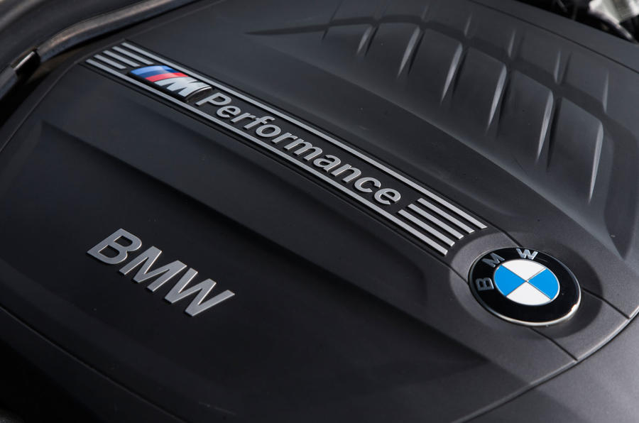 Used BMW M135i M Performance engine badging