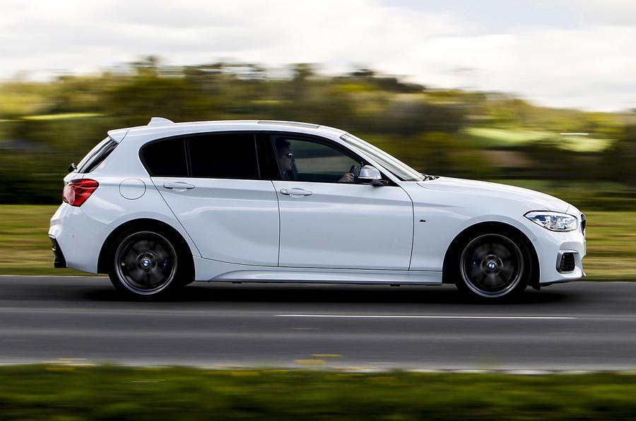 BMW M140i side profile