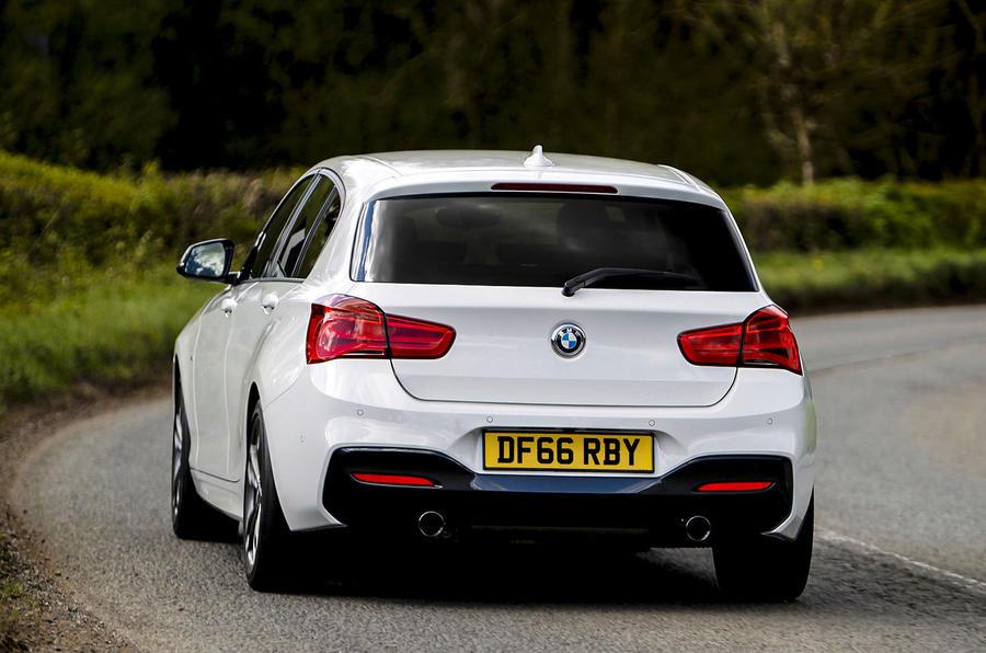 BMW M140i rear