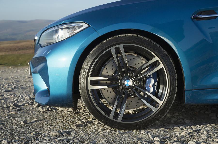 19in BMW M2 alloy wheels