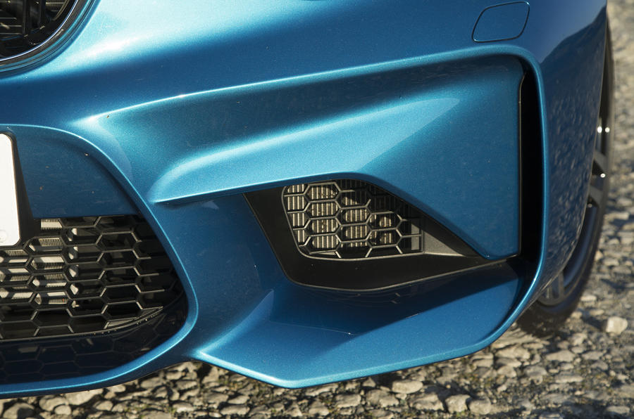 BMW M2 front air louvre