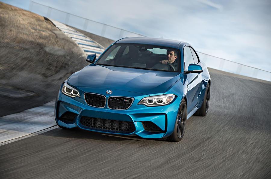BMW M2 cornering