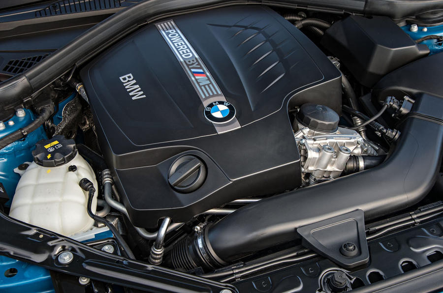 Turbocharged 3.0-litre BMW M2 engine