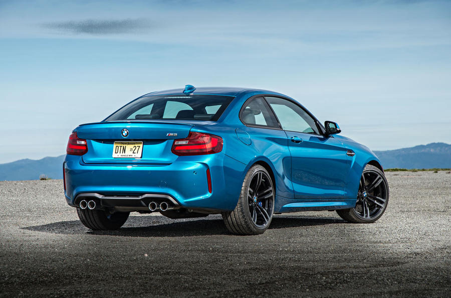 BMW M2 rear quarter