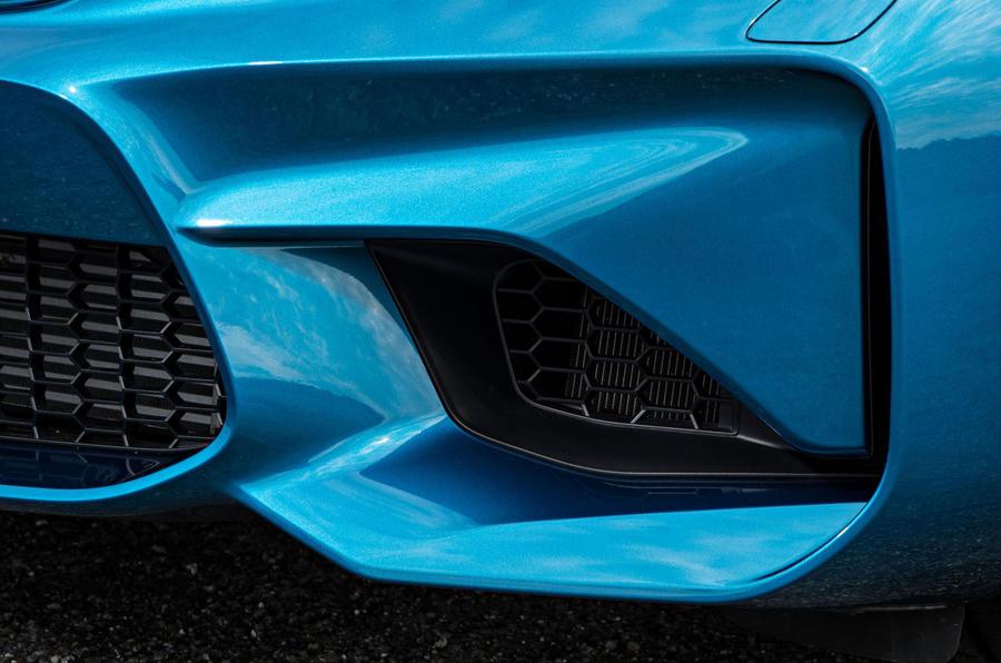 BMW M2 air intake